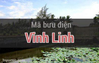 Mã bưu điện Vĩnh Linh, Quảng Trị