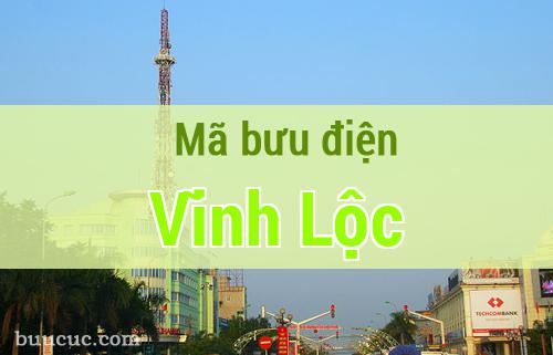 Mã bưu điện Vĩnh Lộc, Thanh Hoá