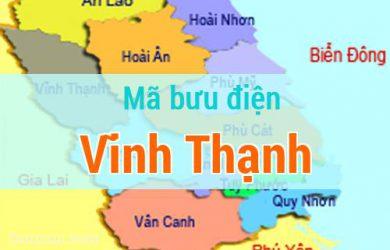 Mã bưu điện Vĩnh Thạnh, Bình Định