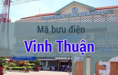 Mã bưu điện Vĩnh Thuận, Kiên Giang