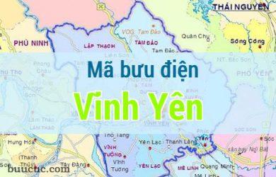 Mã bưu điện Vĩnh Yên, Vĩnh Phúc