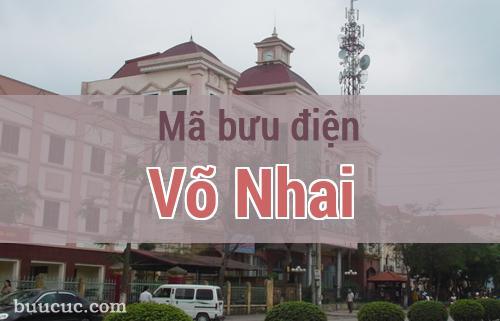 Mã bưu điện Võ Nhai, Thái Nguyên