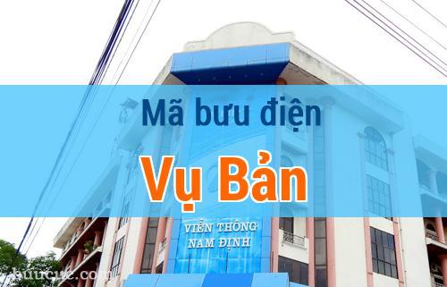 Mã bưu điện Vụ Bản, Nam Định