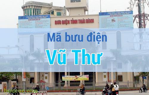 Mã bưu điện Vũ Thư, Thái Bình