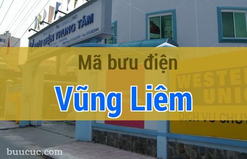 Mã bưu điện Vũng Liêm, Vĩnh Long
