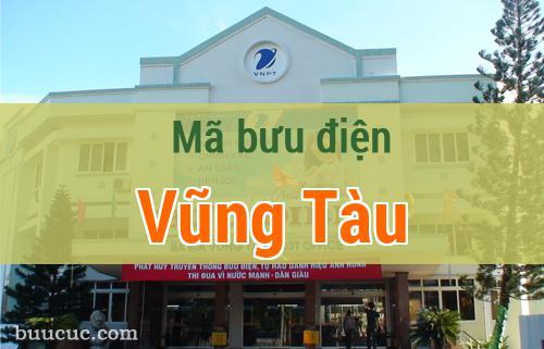 Mã bưu điện Vũng Tàu, Bà Rịa Vũng Tàu