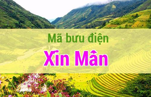 Mã bưu điện Xín Mần, Hà Giang