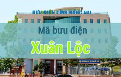 Mã bưu điện Xuân Lộc, Đồng Nai