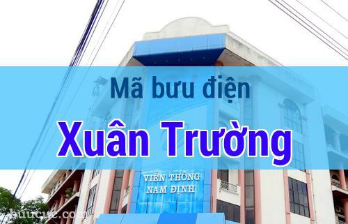 Mã bưu điện Xuân Trường, Nam Định