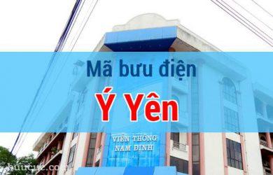 Mã bưu điện Ý Yên, Nam Định