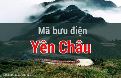 Mã bưu điện Yên Châu, Sơn La