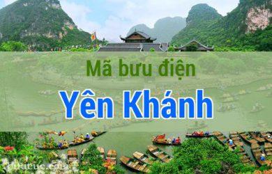 Mã bưu điện Yên Khánh, Ninh Bình