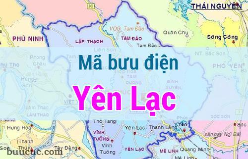 Mã bưu điện Yên Lạc, Vĩnh Phúc