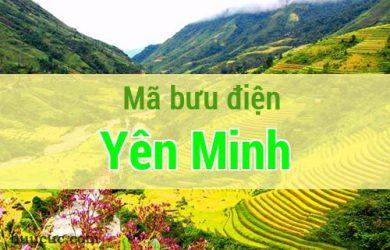 Mã bưu điện Yên Minh, Hà Giang