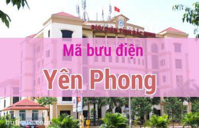 Mã bưu điện Yên Phong, Bắc Ninh