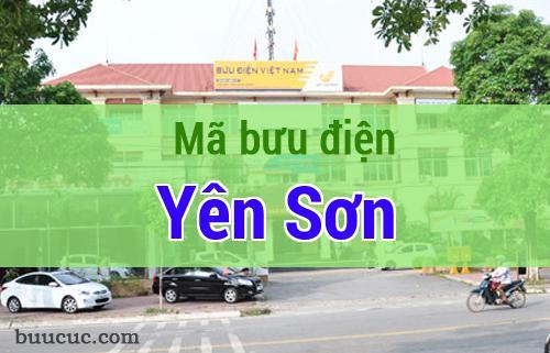 Mã bưu điện Yên Sơn, Tuyên Quang