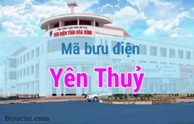 Mã bưu điện Yên Thuỷ, Hoà Bình