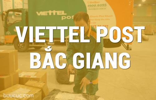 Danh sách bưu cục, số điện thoại, địa chỉ Viettel post Bắc Giang