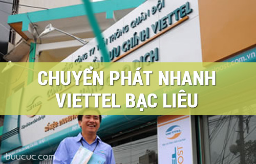 Bưu cục Viettel Post Bạc Liêu