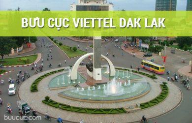 Mạng lưới bưu cục Viettel ở Đắk Lắk