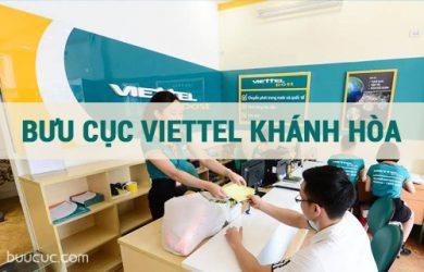 Danh sách địa chỉ, số điện thoại các bưu cục Viettel Khánh Hòa