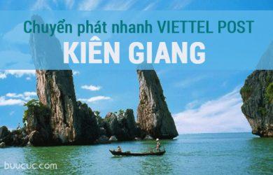 Địa chỉ gửi hàng hóa chuyển phát nhanh Viettel ở Kiên Giang