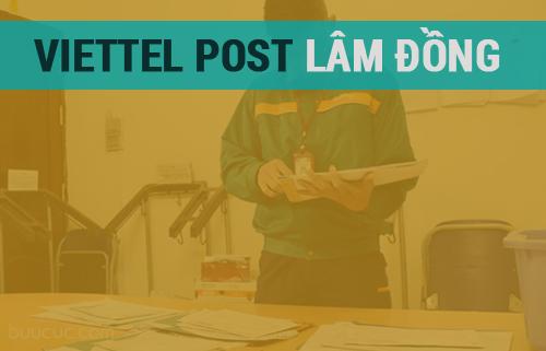 Địa chỉ chuyển phát nhanh Viettel tại Lâm Đồng