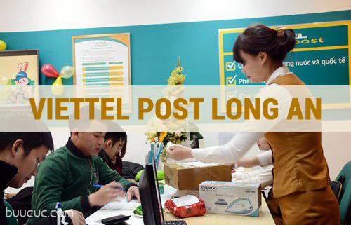 Cửa hàng Viettel chuyển phát nhanh tại Long An