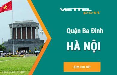 Chuyển phát nhanh Viettel Ba Đình – Hà Nội