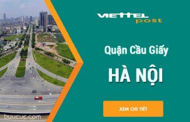 Chi nhánh bưu chính VIETTEL Cầu Giấy – Hà Nội