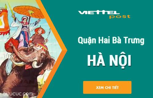 Bưu cục viettel quận Hai Bà Trưng, Hà Nội