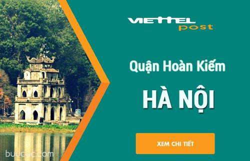 Chuyển phát nhanh Viettel Quận Hoàn Kiếm, Hà Nội