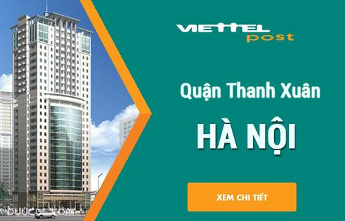 Điểm giao dịch CPN Viettel quận Thanh Xuân – Hà Nội