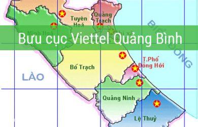 Mạng lưới chi nhánh bưu cục Viettel ở Quảng Bình