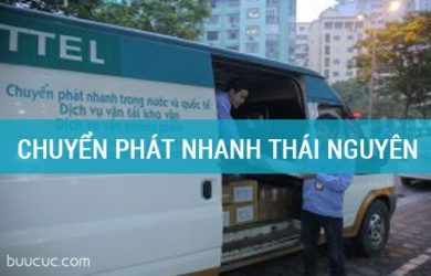 Dịch vụ chuyển phát nhanh của Viettel tại Thái Nguyên