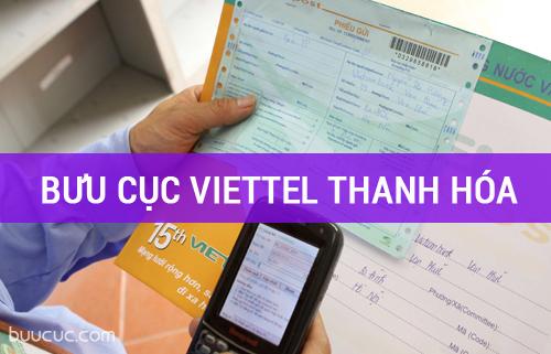 Danh sách bưu cục bưu chính Viettel Thanh Hóa