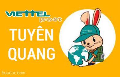 Chi nhánh bưu chính Viettel Tuyên Quang