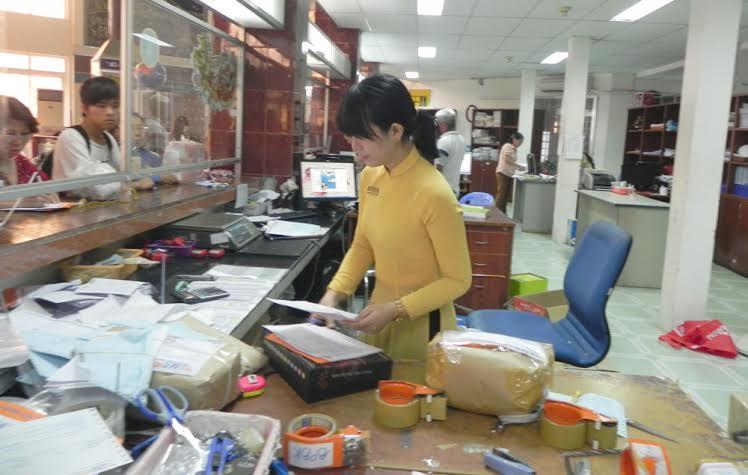Bảng giá gửi hàng qua bưu điện TP.Hồ Chí Minh