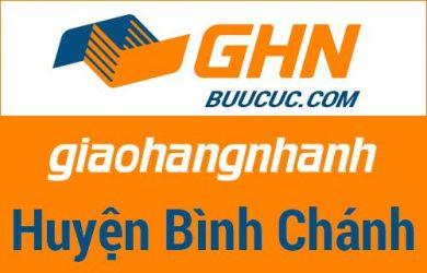 Bưu cục GHN Huyện Bình Chánh – Hồ Chí Minh