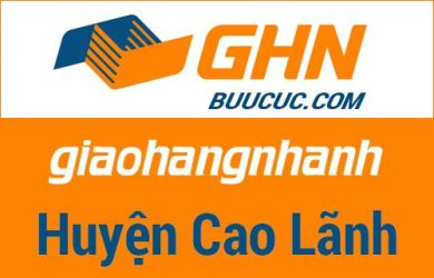 Bưu cục GHN Huyện Cao Lãnh – Đồng Tháp