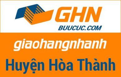 Bưu cục GHN Huyện Hòa Thành – Tây Ninh