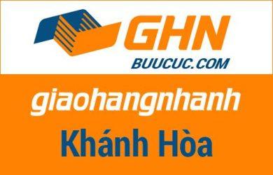 Bưu cục GHN Khánh Hòa