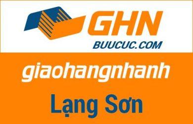 Bưu cục GHN Lạng Sơn
