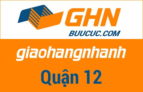 Bưu cục GHN Quận 12 – Hồ Chí Minh