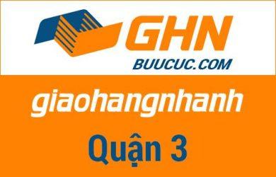 Bưu cục GHN Quận 3 – Hồ Chí Minh