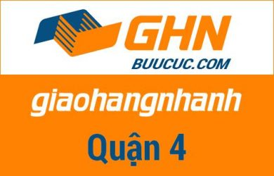 Bưu cục GHN Quận 4 – Hồ Chí Minh