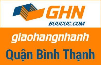 Bưu cục GHN Quận Bình Thạnh – Hồ Chí Minh
