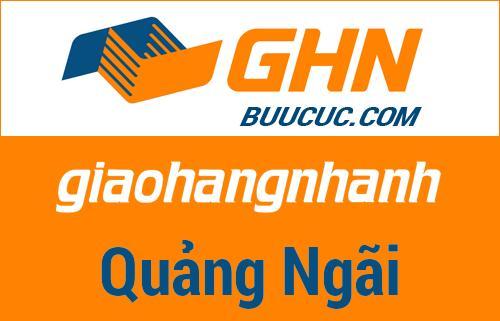 Bưu cục GHN Quảng Ngãi – Quảng Ngãi