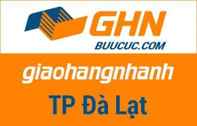 Bưu cục GHN Thành phố Đà Lạt – Lâm Đồng