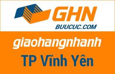 Bưu cục GHN Thành phố Vĩnh Yên – Vĩnh Phúc
